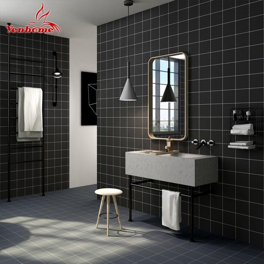 modern kitchen bathroom tile sticker vinyl waterproof self